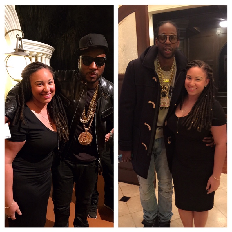 Young Jeezy and Melanie Amaro - 2Chainz and Melanie Amaro